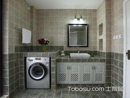看瓷磚洗手臺裝修效果圖,DIY獨一無二瓷磚洗手臺