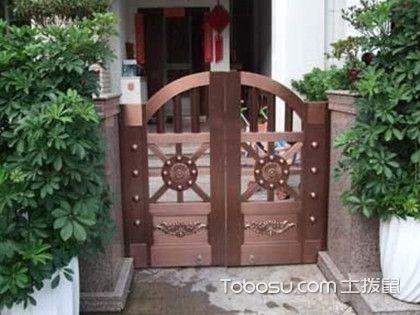 庭院铜门设计效果,它的优点都有哪些?