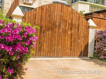 庭院门装修会影响到住宅风水哦,你注意到了吗