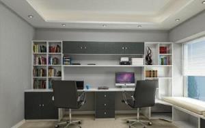 【书柜电脑桌】转角书柜电脑桌 书柜电脑桌尺寸以及相关搭配效果图片