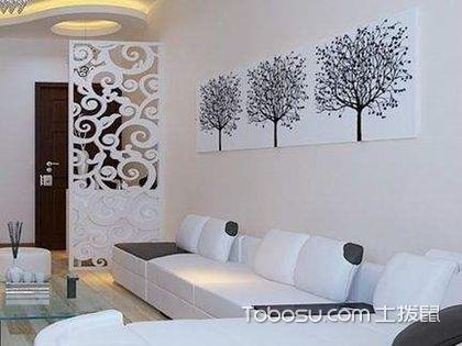 客厅沙发背景墙装修,创意沙发背景墙开阔你的审美