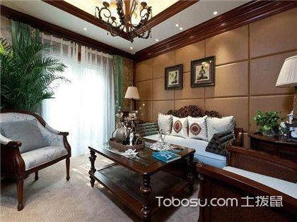 新古典中式风格大户型别墅客厅装修效果图,想看的都过来!