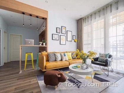 4.3万打造117㎡三居装修,卧室榻榻米衣柜不要太实用哦!