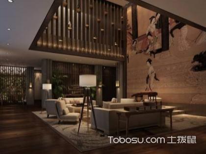 东丽湖别墅边户装修中式设计效果图,中式装修设计特点有哪些?