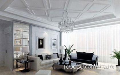石膏板吊顶造型图片,让屋顶不在单调