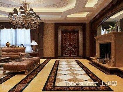 卫生间瓷砖拼花设计图片