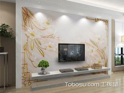 客厅电视墙纸背景墙,创意墙纸造就不平凡的客厅设计