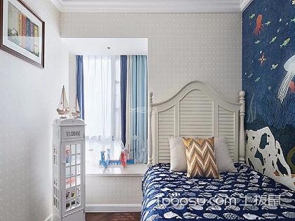 儿童卧室壁纸装修效果图,尽情享受童年的美好