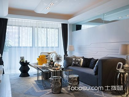 现代简约风格设计方案,15万打造125平三室两厅家居
