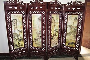 中式古典屏風