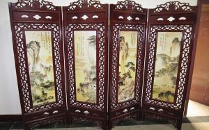 【中式古典屏风】中式古典屏风特点、作用及图片