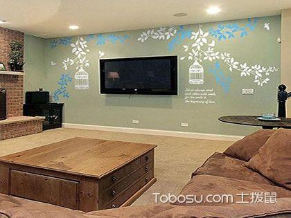 创意电视背景墙设计,关于温馨一角的心机改造