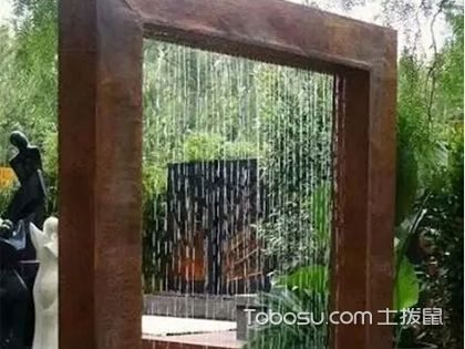 6款创意十足的庭院水景墙设计,灵动自然让庭院更富活力