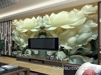 3D背景墙装修效果图,3D背景墙的优势解析