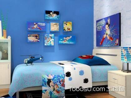 蓝色儿童房如何设计,美丽的蓝色儿童房效果图
