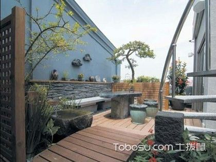 几张庭院设计风水效果图,学会了想不旺都难