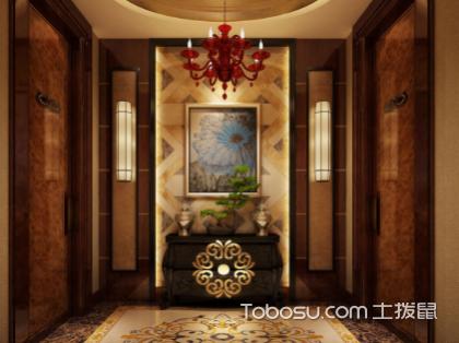 欣赏中式风格装修走廊装修图片,装修最美玄关