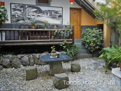 对比庭院设计实景,装修舒适安全私家庭院