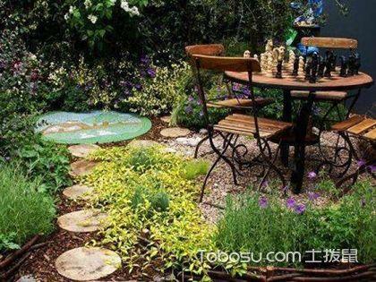 田園小庭院設計實景圖,田園式風格的庭院如何設計