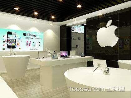 专卖店设计平面图,苹果专卖店装修案例分析