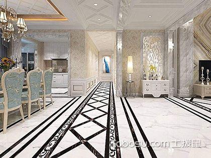 别墅大厅地砖装修风格,带您欣赏各式地砖铺设效果