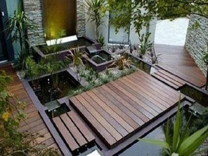 田园风庭院平面图,你是怎么设计的?