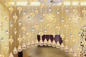 水晶珠門窗簾