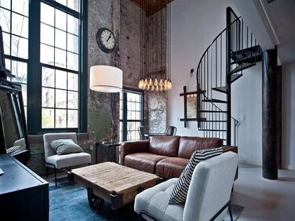 别墅工业风装修风格,打造个性家居
