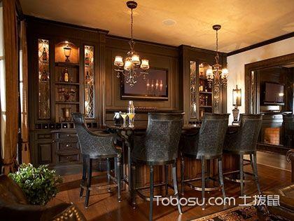 美式吧台,为您呈现精美的吧台设计