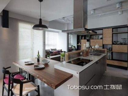 开放式厨房装修设计怎么样?开放式厨房装修攻略有哪些?