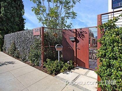 庭院鐵藝大門圖片大全,帶給你不同的視覺體驗