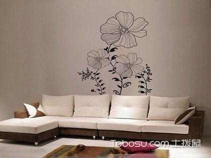客厅沙发背景墙手绘,沙发背景墙手绘技巧