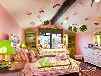 可爱温馨的儿童房装修效果图原来是这样装修出来的