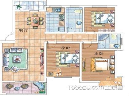 三室二厅装修预算表?怎么样做一个合适预算?