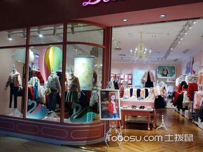 商場童裝店裝修效果圖,童裝店裝修布局特點