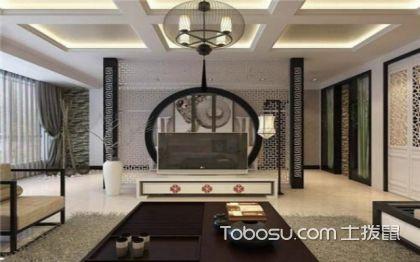 不知道电视背景墙怎么装修?中式风格电视背景墙你值得拥有!