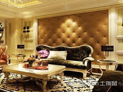 欧式沙发背景墙造型,奢华浪漫的形象代言