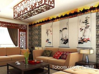 欧式古典沙发背景墙如何设计,正确设计可以让客厅变得更加华美