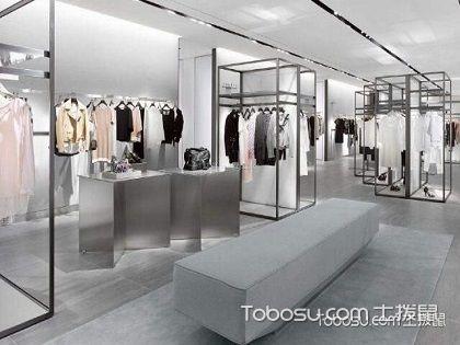 大型商场装修效果图之店面装修的案例