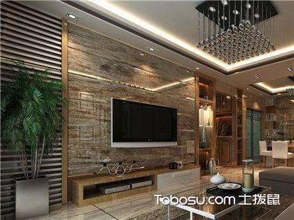 时尚简约电视背景墙,让你的家更加温暖