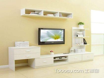 现代简约电视背景墙,可置物的背景墙这样设计最好看