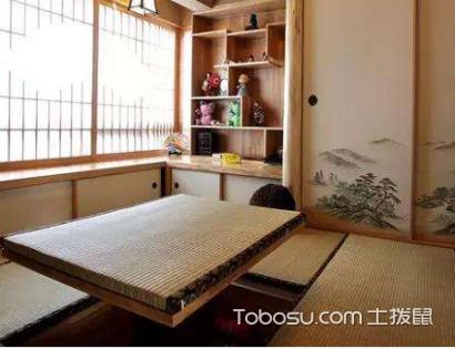 日式榻榻米房间设计,五种不同的效果。