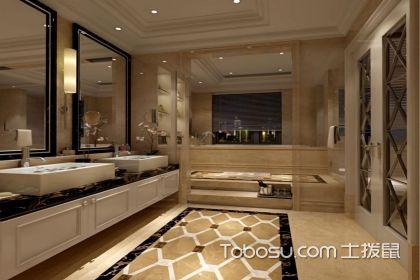 看了这简欧式卫生间的设计说明,这样的卫生间太赞了