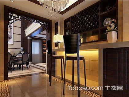 中式吧台,打造不一样的中式风格家居吧台