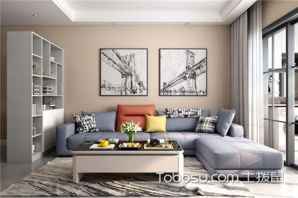 现代简约客厅装修图,极致简约的气质空间