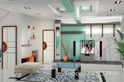 客厅有梁装修效果图,有梁的客厅应该如何装修设计