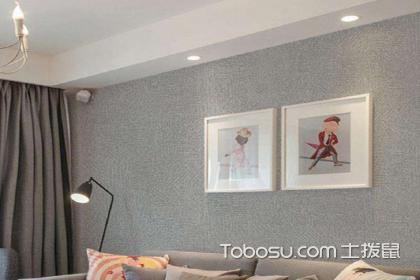 客厅墙布装修效果图,客厅墙布应该怎么选择