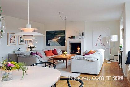 客厅在中间的户型装修,学会了让你的客厅精致又舒心