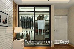 时尚玻璃衣柜