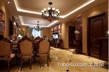 美式古典客厅装修效果图,特点有哪些?